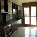 Cocina con terraza del apartamento en venta en Villanueva de Gállego (Zaragoza)