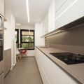 Cocina diseñada en galería | Sincro