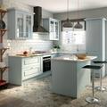 cocina en azul