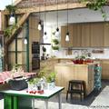 Cocina madera IKEA