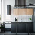 Cocina minimalista en blanco y negro
