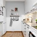 Cocina nórdica pintada de gris