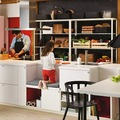Cocinas con bancos para niños