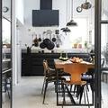 Cocinas industriales en tonos negros