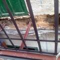 Col·locació de la nova estructura de soport.