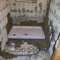 Colocación plato de ducha e instalaciones