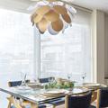 Comedor, protagonismo para la lámpara