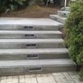 Construcción de una escalera de hormigón in situ