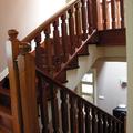 Construcción de vivienda nueva unifamiliar aislada - escalera
