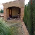 Construccion porche con paellero