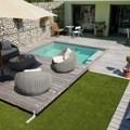 cubierta con terraza