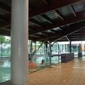 Cubierta piscina.