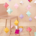 Decoración con Origami