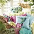 Decoración tropical cojines