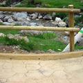 Detalle barandilla en puente