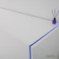 Detalle de luz indirecta en el mobiliario