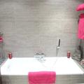 Detalle decoración de baño