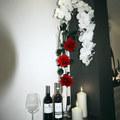 Detalle floral para la entrada