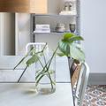 Detalle mesa de mármol blanco macael
