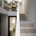 diferentes tramos de escalera