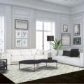 Diseño Blanco y Negro de Blanc Interiores