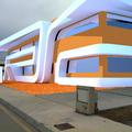 "Diseño exterior para nave industrial ""Arquitectura exterior"""