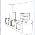 Diseño previo para barra y estanteria
