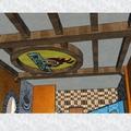 Diseños descartados para el techo