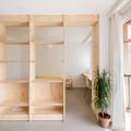 dormitorio con mobiliario a medida