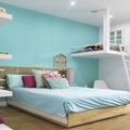Dormitorio con reading corner