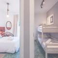 Dormitorio matrimonio y dormitorio litera