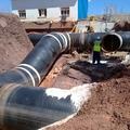 Ejecución arquetas en conexión de tubos.