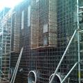 Ejecución de muros con cajones, placas, tubos, etc.