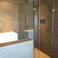 El detalle de la ducha