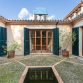 El encanto de un patio mediterráneo