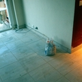 Embaldosado de un piso 45m