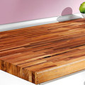 encimera madera maciza
