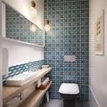 aseo de visitas con azulejos