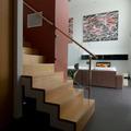 Escalera integrada en salón