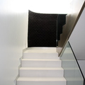 Escalera lacada