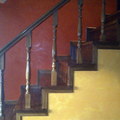 Escaleras estucado
