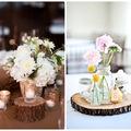 decoración boda rústica