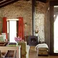 Salón en casa rural
