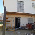 Estructura metálica para ampliación de vivienda