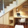 Estudio bajo escalera