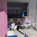 Estudio de nueva cafeteria (vista interior)