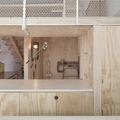 estudio de paredes de madera