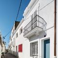 fachada blanca mediterránea