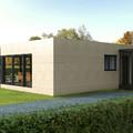 Fachada de la Casa Cube de 100 m2