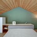 Fachada de piedra para una casa moderna.